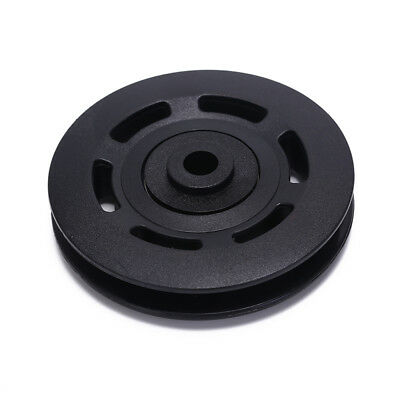 1x90mm Black Bearing Pulley Wheels Cable Gym Equipments Part Wearproof gym tools