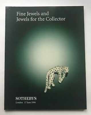 Sotheby's Fine Jewels and Jewels for the Collector Auction London 17 June 1996