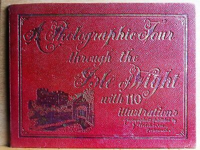 Early 20th Century book of photographs of the Isle of Wight