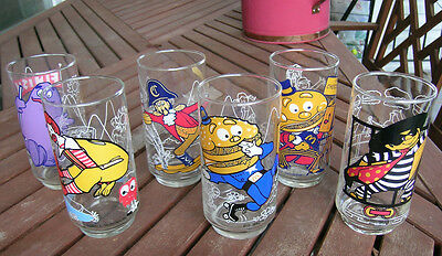 Authentic Vintage Original McDonald Land Action Series Glasses circa: 1977