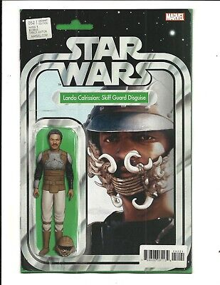 STAR WARS # 52 (LANDO CALRISSIAN Action Figure Variant Cover, OCT 2018) NM NEW