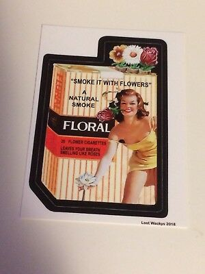 NEW Lost Wacky Packages VARIATIONS Proof #5) Floral 2018