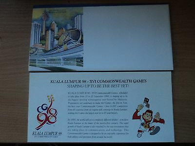 Malaysia 1995 11 Sep Presentation Pack 16th Commonwealth Games, KL 2nd Pre-issue