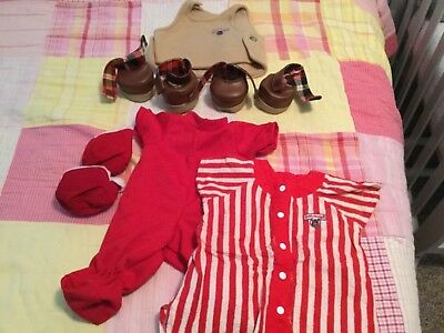 Wholesale Lot of Teddy Ruxpin Accessories,Teddy Ruxpin Outfit,Grubbys shoes.