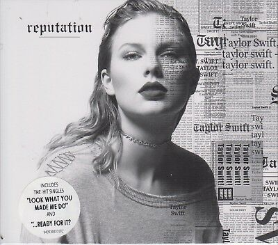 SEALED - Taylor Swift NEW CD Reputation Slipcase DELUXE SHIPPING NOW !!!