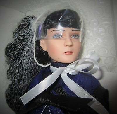 """Pessimist in Purple Agnes Dreary 12"""" Doll Tonner"""