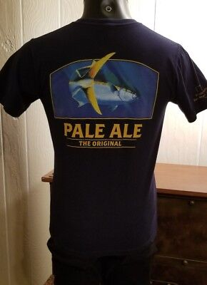 Ballast Point Brewing Co. -Pale Ale The Original- Craft Beer Blue T-Shirt Sz M