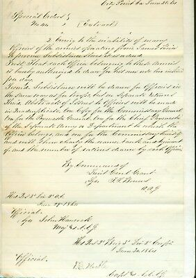 1864 signed general orders from U.S. Grant