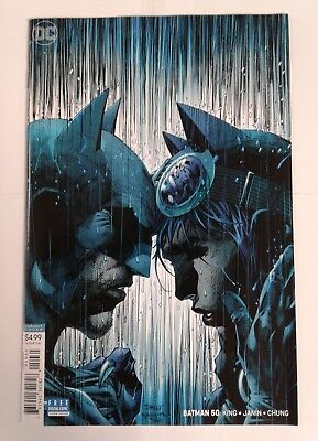 BATMAN #50 Jim Lee Virgin Variant Cover 1st Print Catwoman Wedding DC 2018