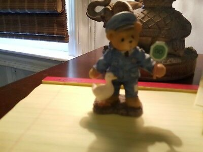 cherished teddies KENT Officer,I'v Got A Warrant Out For Your Hart. Condition-G