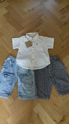 Baby Boy Bundle 6 Months Levis Jeans, Timberland Shirt (New)& Oshkosh Jeans