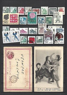 China very fine used including two postcards
