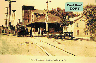 Albany Southern Trolley Station (Traction Depot) at Valatie, Columbia Co., NY