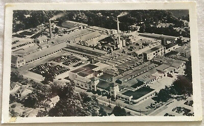 Elkhart Ind View Of C G Conn Factory Band & Orchestra Instruments 1949 Postcard