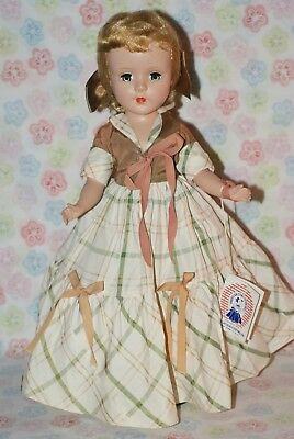 "GORGEOUS! Vintage 14"" Sweet Sue All Original Strung Hard Plastic Doll"