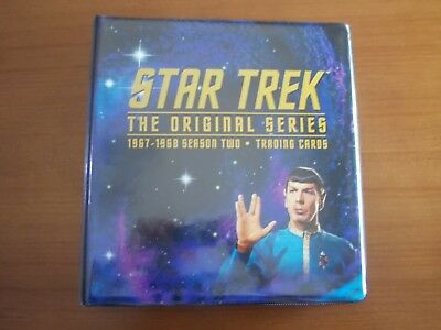 Star Trek Original Series TOS Season Two 2 Mini Master Set Cards Skybox & binder