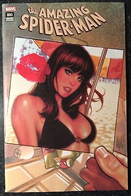 Amazing Spider-Man 800 Adam Hughes Variant Color Trade Dress See 12 Pics Of Book