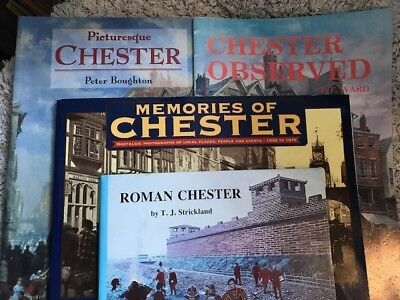 Collection Job Lot of 4 Books about Chester - Old Photographs