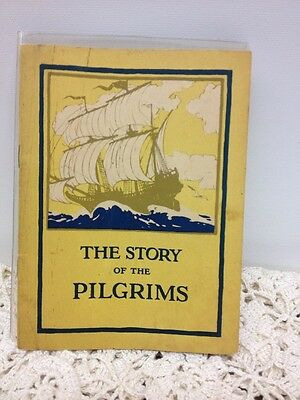 "Antique 1923 Book ""The Story of the Pilgrims"" John Hancock Life Ins. Co."