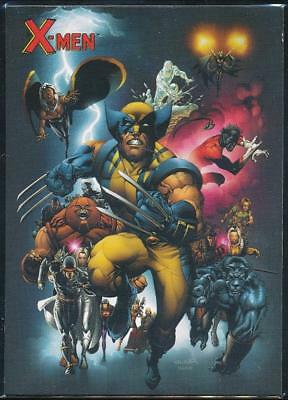 2009 X-Men Archives Trading Card #1 Title Card