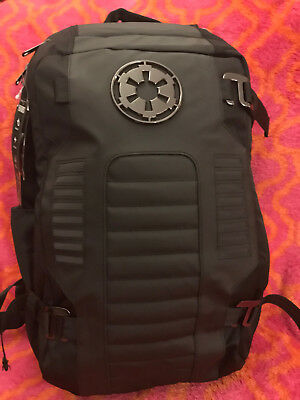 Star Wars Imperial Cog All Black Back Pack NEW Empire Built Backpack w Tags