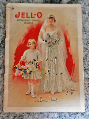 1916 Jell-O Booklet w/ Bride