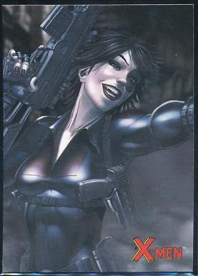 2009 X-Men Archives Trading Card #17 Domino