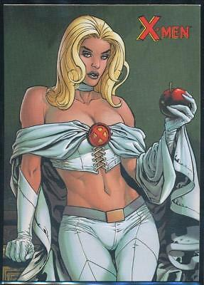 2009 X-Men Archives Trading Card #20 Emma Frost/White Queen