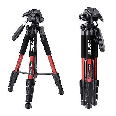 Professional Aluminium Travel Tripod Pan Head for Canon Nikon Sony DSLR Camera