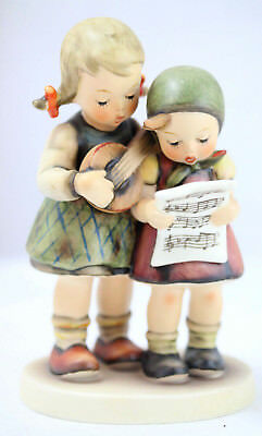 """Close Harmony"" Goebel Hummel Figurine #336 TMK4 Two Girls Singing - EXCELLENT"