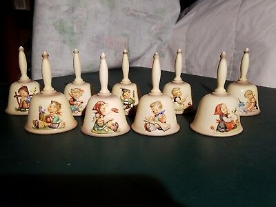 MI Hummel Bells - Set of 9 Bells