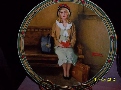 Norman Rockwell's American Dream'  Collector Plate Fine China 1985 1st Issue