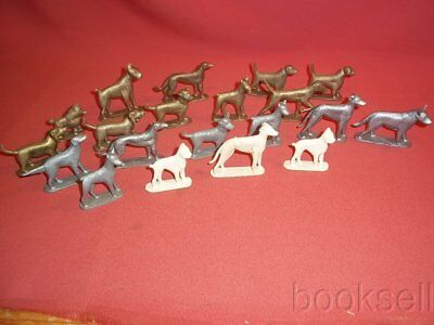 Lot Of 20 Original 1950S Rubenstein Nabisco Wheat And Rice Honey Dog Figures