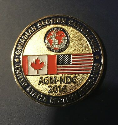 International Police Association Challenge Coin - United States / Canada Meeting