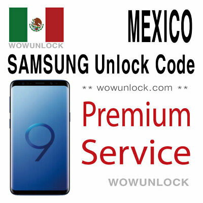 MEXICO AT&T Unefon Nextel Iusacell Unlock Code Huawei Mate 20 Lite Y7 Y9 P20 Pro
