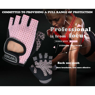 Gym Gloves Women Yoga Weight Lifting Cycling Bodybuilding Training Fitness Glove