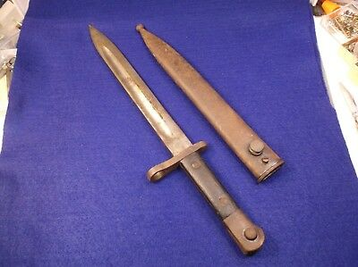 Usmc World War 2 Wwii Bolo Knife Chatillon Ny Hospital