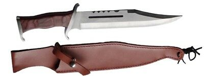 RAMBO 3 COMBAT Knife 28 cm Blade sheath camping tactical pig outdoor army bowie