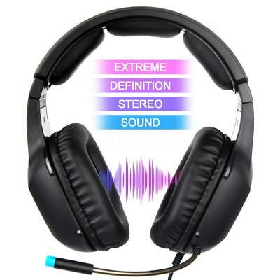 SADES 3.5mm Wired Stereo Gaming Headphones Bass HiFi Headset Mic For PS4 Laptop