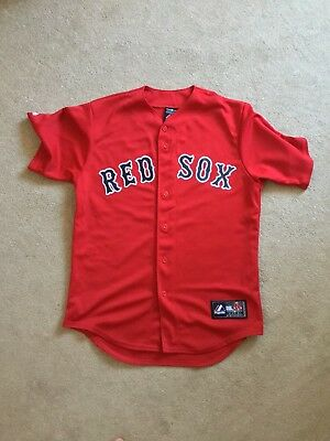 Boston Red Sox - Red Majestic Road Jersey - Size M