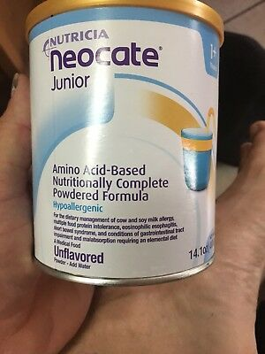 Neocate Junior Kids Child Formula New One Can Unflavored