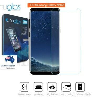 NUGLAS Samsung Galaxy Note 8 3D Full Coverage Tempered Glass Screen Protector
