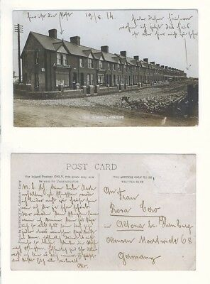 AK Postcard England Großbritannien - Rhoose, The Terrace (Glamorgan Wales Barry)