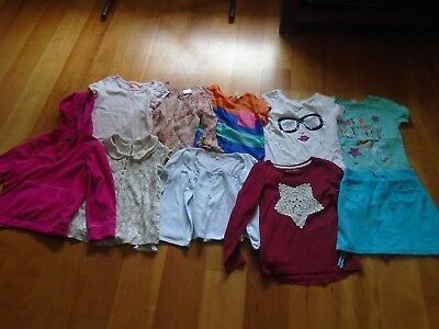 Bundle of girls clothes - age 6-7 years - 10 items - Next, M&S, George