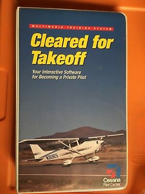 Cessna Multimedia Training System Cleared for Takeoff Private Pilot Handbook