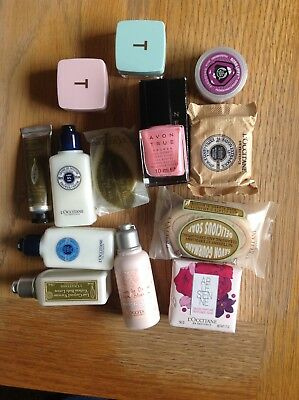 loccitane,avon,body shop and ted baker bundle