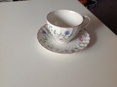 Summer Chintz Tea Cup And Saucer