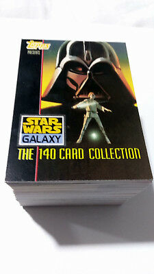 Star Wars Galaxy One Complete Trading Card Base Set