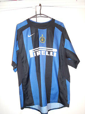 FC Internazionale INTER MILAN   Adriano Jersey Size Large
