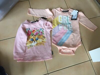 Rock Your Baby Bodysuit And Tee Sz 12-18 Months Bnwt